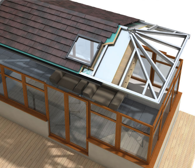 Guardian Efficiency conservatory roofing company Newcastle
