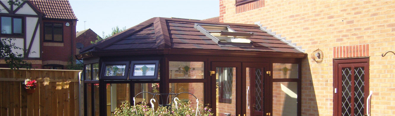 Guardian tiled conservatory roof Morpeth