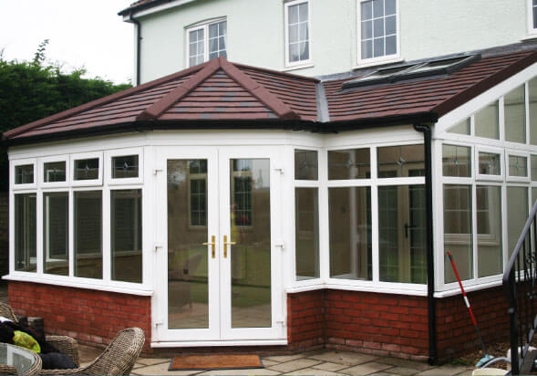 P Shape Roof Style conservatory Morpeth