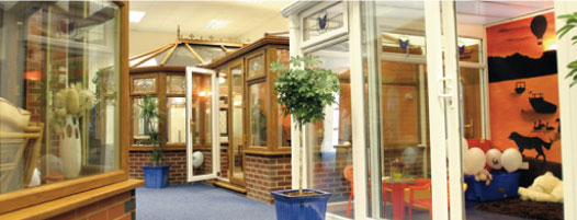 Showroom for conservatories Northumberland