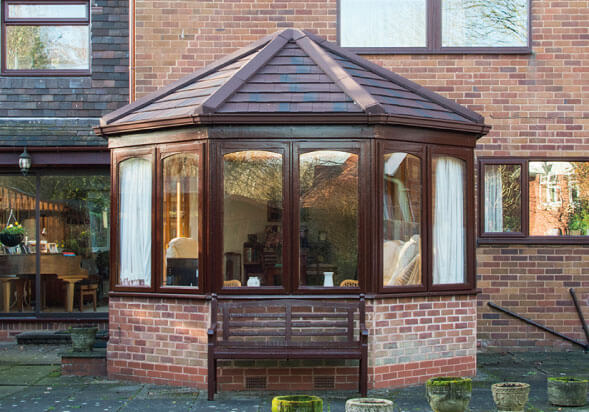 Conservatory with Victorian Roof Style Morpeth