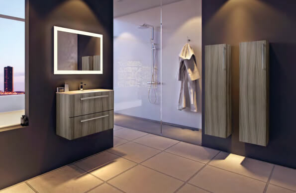 modern bathroom Newcastle-upon-Tyne UK