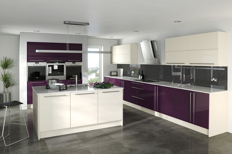 high gloss kitchen Newcastle
