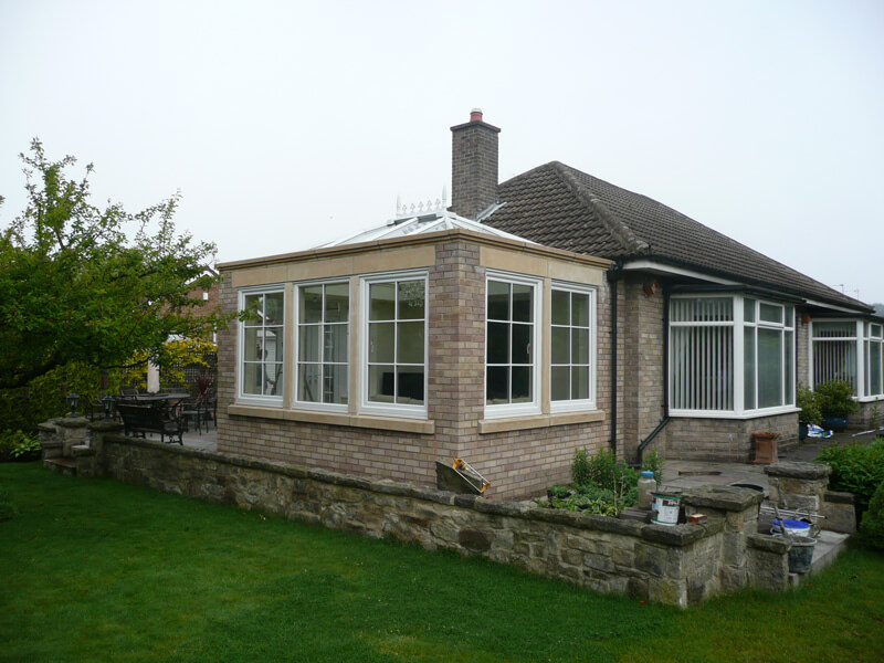 small extension Northumberland